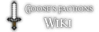 Goose's Minecraft Server Wiki