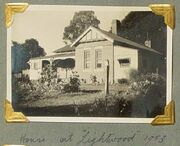 AUS NSW Jingellic Lightwood Farmhouse in 1953