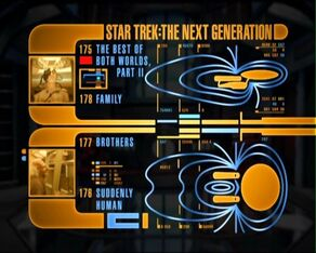TNG season 4 DVD menu