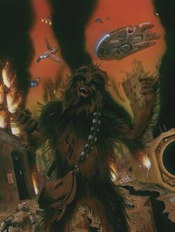 Chewbacca Dies