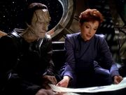 Dukat and kira art