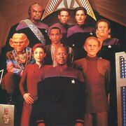 DS9 quipage saison 6
