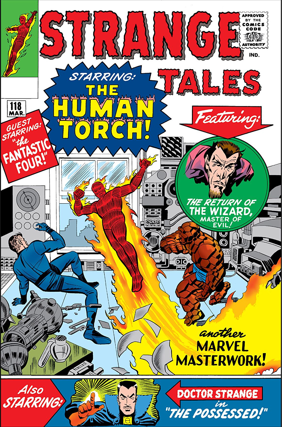Strange Tales 118 cover