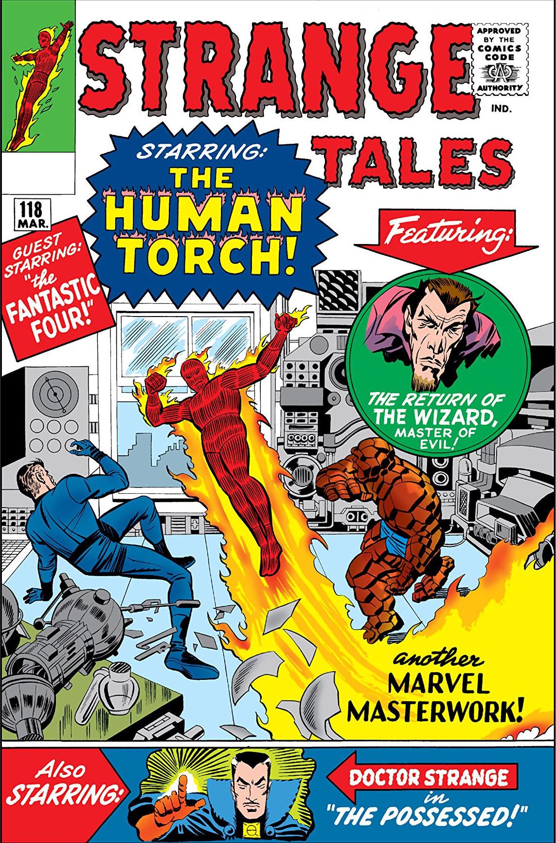 Strange Tales 118 cover