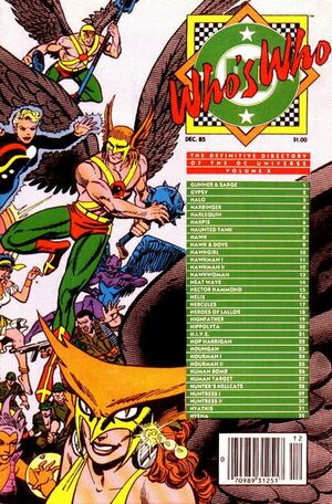 Cover for Who&#39;s Who: The Definitive Directory of the DC Universe #10