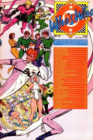 Cover for Who&#39;s Who: The Definitive Directory of the DC Universe #7