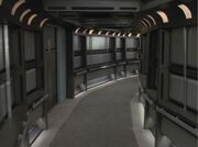 USS Voyager corridor