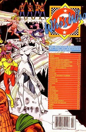 Cover for Who's Who: The Definitive Directory of the DC Universe #12