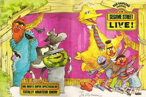 SESAME STREET LIVE AMATEUR COVER