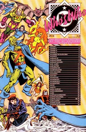 Cover for Who's Who: The Definitive Directory of the DC Universe #14