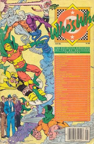 Cover for Who's Who: The Definitive Directory of the DC Universe #16