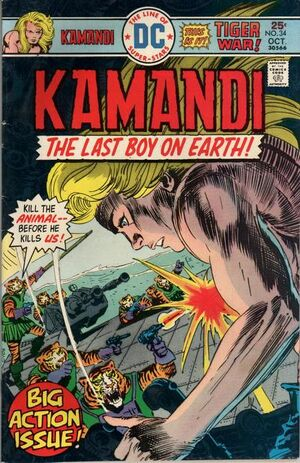 Cover for Kamandi #34