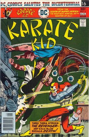 Cover for Karate Kid #3