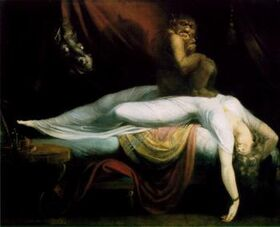 Fuseli nightmare