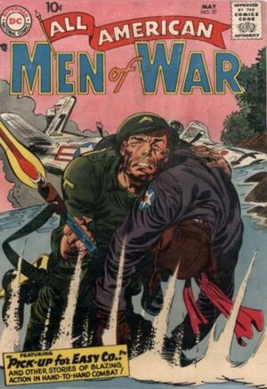 Cover for All-American Men of War #57