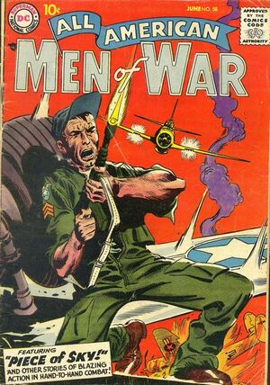 Cover for All-American Men of War #58
