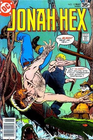 Cover for Jonah Hex #12