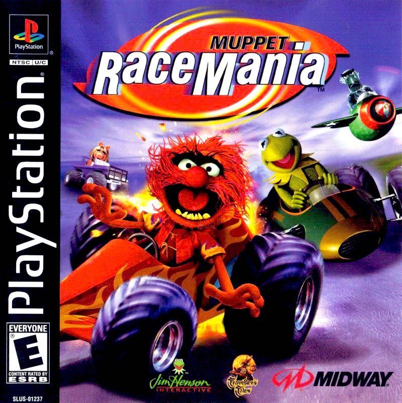 [PSX] Teleñecos Racemania MuppetRaceMania