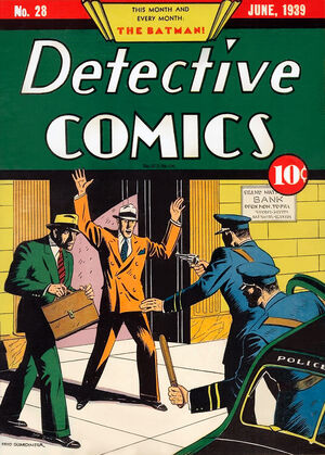 Cover for Detective Comics #28