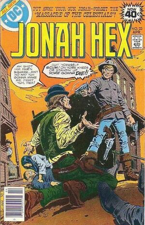 Cover for Jonah Hex #23