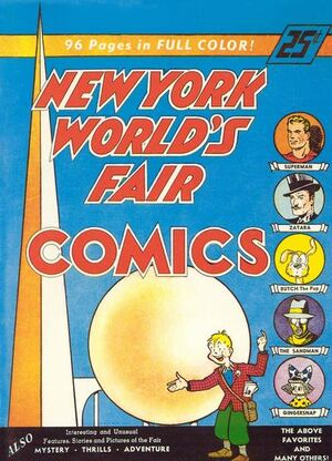 Cover for New York World's Fair Comics #1