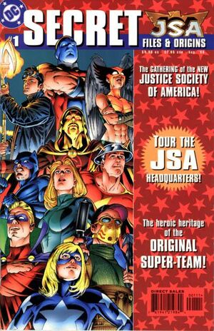 Cover for JSA Secret Files and Origins #1
