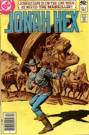 Cover for Jonah Hex #31