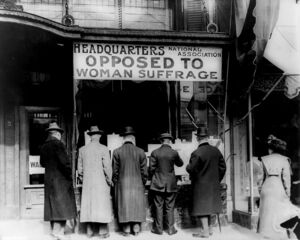 National Association Against Woman Suffrage