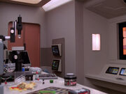 Sickbay laboratory