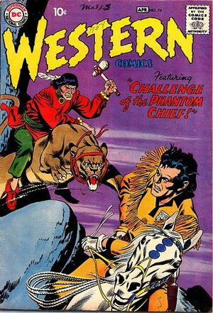 Cover for Western Comics #74