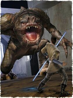 Rancor wall med