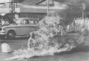 Thich Quang Duc - Self Immolation