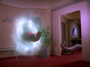 Riker abducted