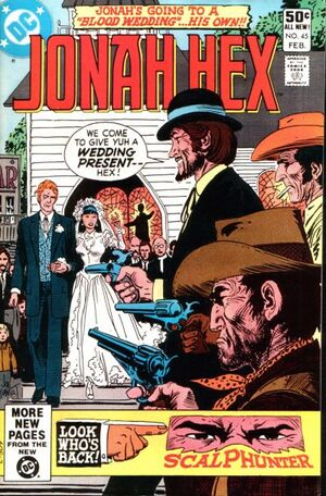 Cover for Jonah Hex #45
