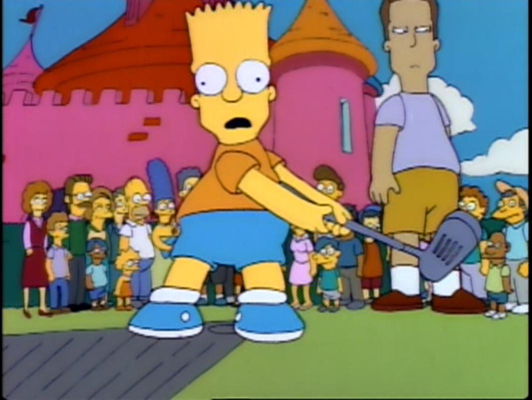 Bart vs lisa hockey latino dating