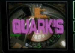 Quarks bar advertisement, the quickening