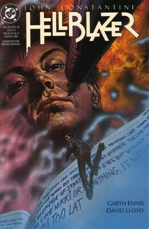 Cover for Hellblazer #56