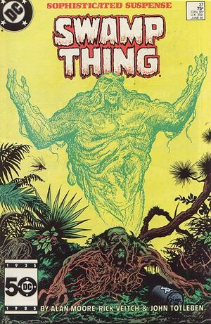 Cover for Swamp Thing #37
