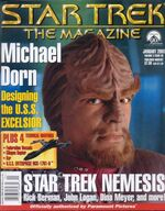 Star Trek The Magazine volume 3 issue 9 cover