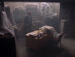 X-Files Office under wraps