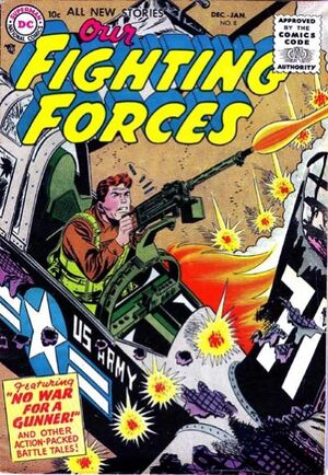 Cover for Our Fighting Forces #8