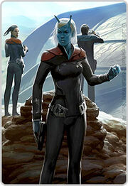 STO (Perpetual) Andorian command division game art