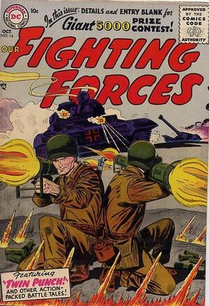Cover for Our Fighting Forces #14