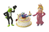 Carlton kermit piggy and gonzo ornament