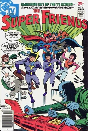 Cover for Super Friends #7