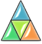 Stylized triangle