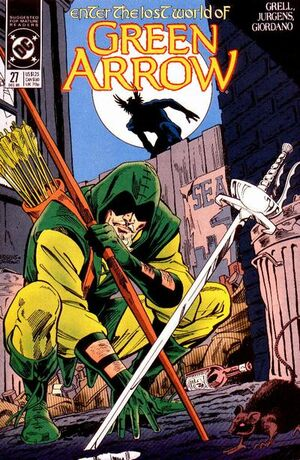 Cover for Green Arrow #27