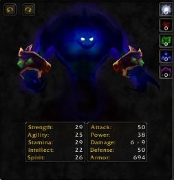 Voidwalker stat