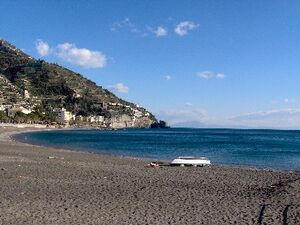 Italy Maiori Beach