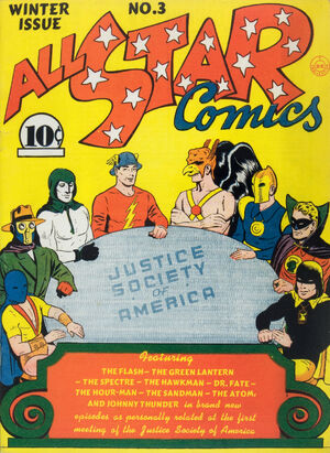 Cover for All-Star Comics #3